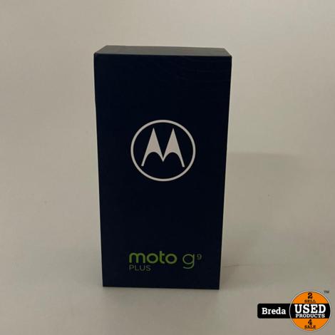 Moto G9 Plus Navy Blue 128GB | Nieuw in doos met Garantie