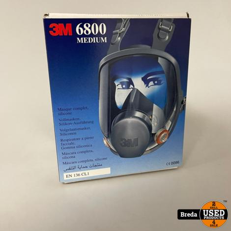 3M 6800 Medium Masker | Nieuw in doos