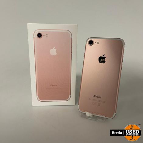 iPhone 7 32GB Rose Gold | Nette staat met garantie
