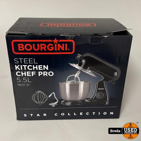 Bourgini steel kitchen chef pro   Nieuw in doos met garantie