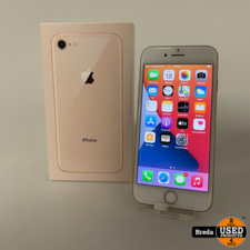 iPhone 8 64GB Roze Gold | Nette staat met garantie