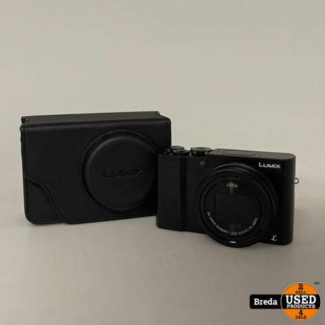 Panasonic DMC TZ100 Digitale Camera   Nette staat met garantie