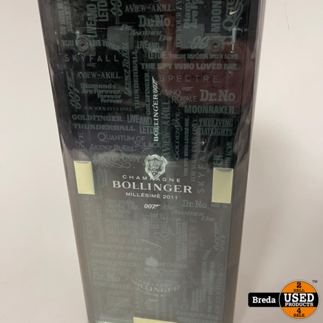 Bollinger 007 Champagne | Limited Edition No Time To Die | NIEUW in doos
