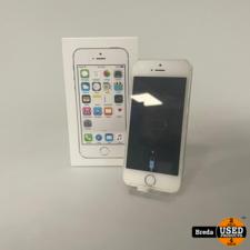 Iphone 5s 32GB Silver   Nette staat met garantie