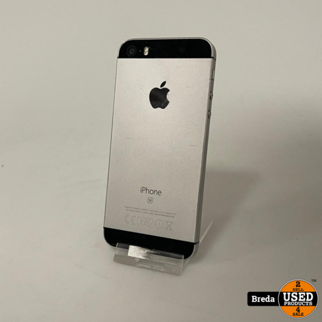 iPhone SE 64GB Zwart   Met garantie