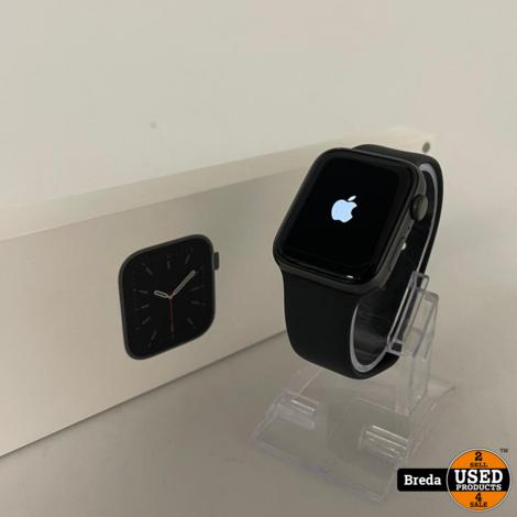 Apple watch 6 Serie 44MM GPS Black | Nieuwstaat met Garantie