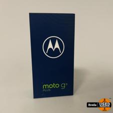 Moto G9 plus Blue 128GB | Nieuw in seal met garantie