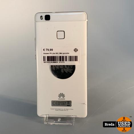 Huawei P9 Lite Wit | Met garantie