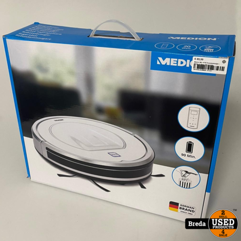 Medion MD 19100 Robotstofzuiger | Nieuw in doos met garantie