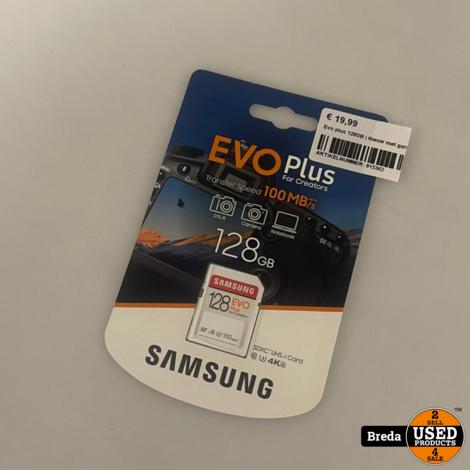 Evo plus 128GB   Nieuw met garantie