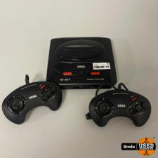 Sega Mega Drive 2   2 Controllers   Met Garantie