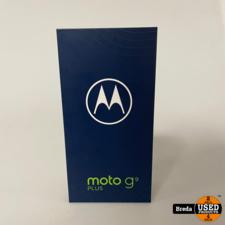 Moto G9 Plus 128GB Navy Blue | Nieuw in seal met garantie