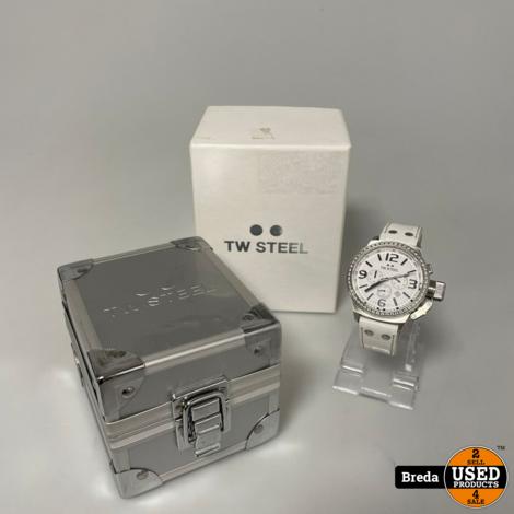 TW Steel Mother Of Pearl Dial Horloge    In zeer nette staat   
