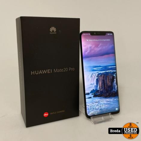 Huawei Mate 20 Pro 128GB Zwart | Nette staat met Garantie