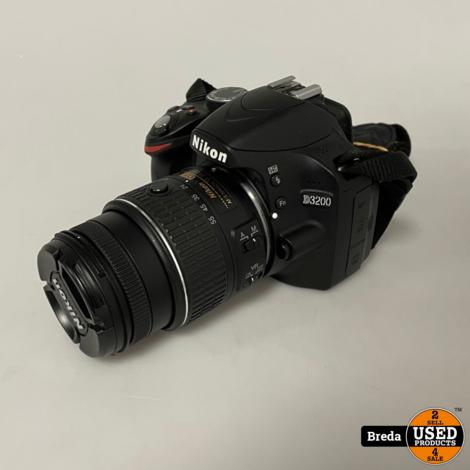 Nikon D3200 + Nikon 18-55MM Lens | Nette staat met garantie