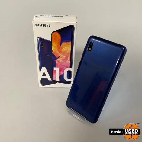 Samsung A10 32GB Blauw  In doos Met garantie