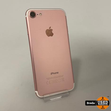 iPhone 7 32GB Rose Goud   Nette staat Met garantie