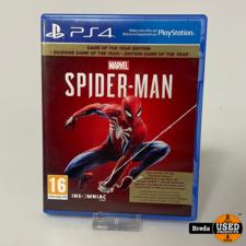 Marvel Spiderman   Playstation 4   Met Garantie