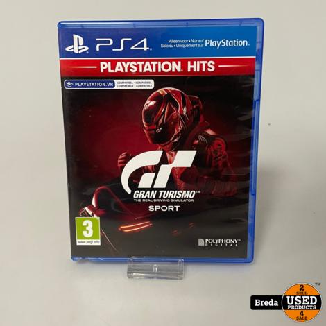 Grand Turismo Sport   Playstation 4   Met Garantie
