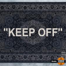 2019 IKEA Keep Off Kleed/Tapijt Virgil Abloh 200x300cm NIEUW