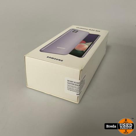 Samsung A22 5G 64GB Violet   NIEUW in seal