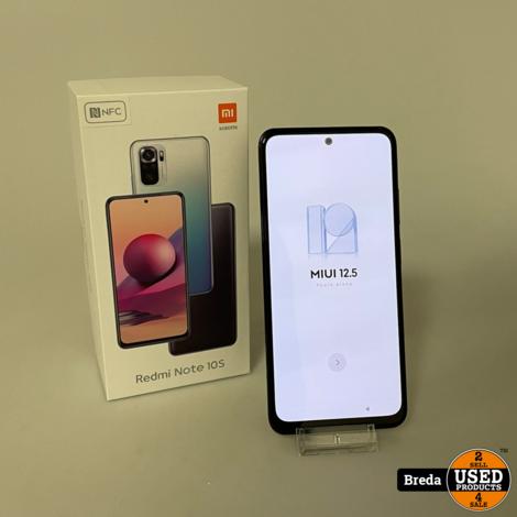 Redmi Note 10S Gray 128GB 6GB RAM | Nette staat Met  garantie