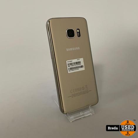 Samsung Galaxy S7 32GB Gold   Ingebrand scherm   Met Garantie