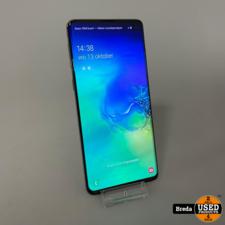 Samsung Galaxy S10 128GB Blauw | Nette staat met garantie