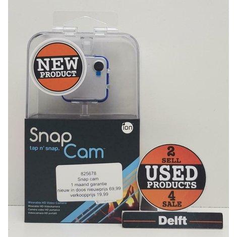 Nieuw in doos ION SnapCam action incl 1 maand garantie!