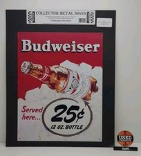 Collector metal signs Budweiser