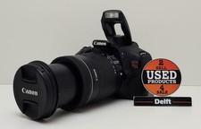Canon EOS Rebel T3i met canon EFS 18-135mm 1:3.5-5.6 IS lens 1 maand garantie
