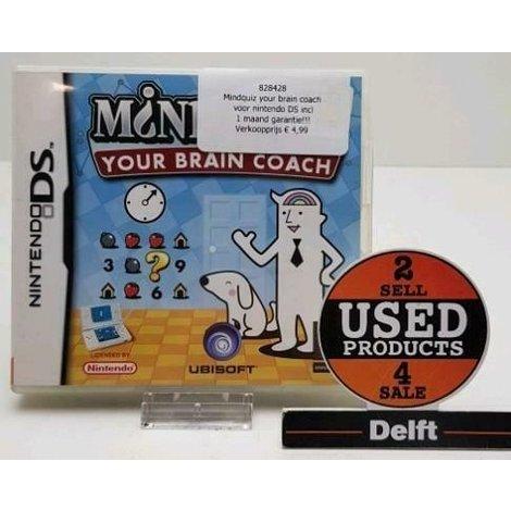 Mindquiz your brain coach voor nintendo DS incl 1 maand garantie!!!