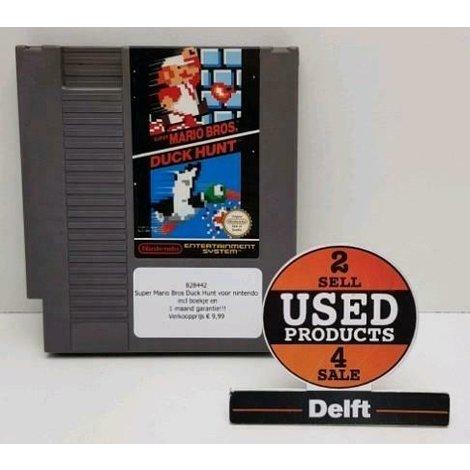 Super Mario Bros Duck Hunt voor nintendo incl boekje en 1 maand garantie!!!