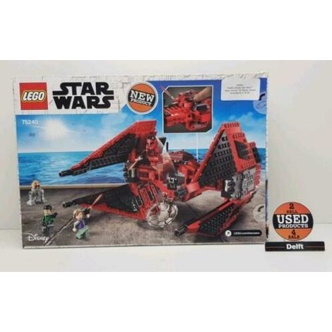 75240 LEGO® Star Wars™ Major Vonreg TIE Fighter (Rood)