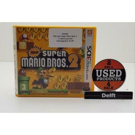3DS new Super Mario Bros 2 1 maand garantie