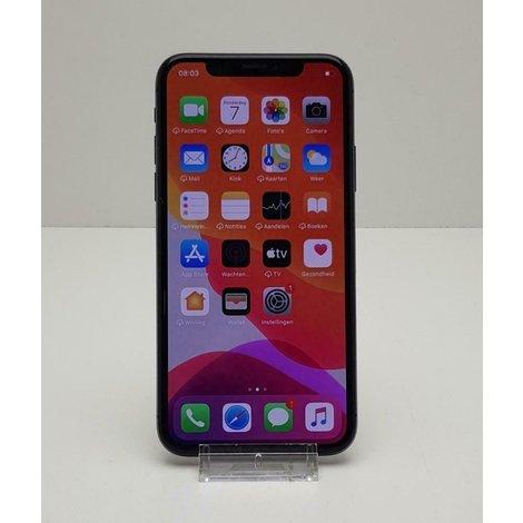 iPhone X 64GB spacegrey met doos en 3 maanden garantie
