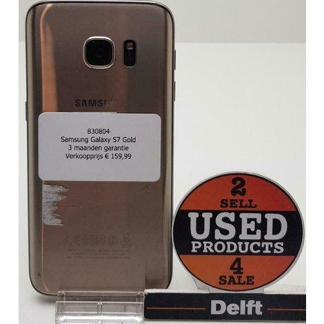Samsung Galaxy S7 Gold//3 maanden garantie