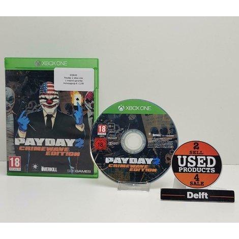 Payday 2 xbox one// 1 maand garantie