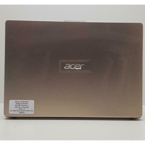 ACER Swift 1 SF114-32-C1H6 intel celeron N4000 CPU 1,1GHz 4GB RAM 64GB  3 maanden garantie