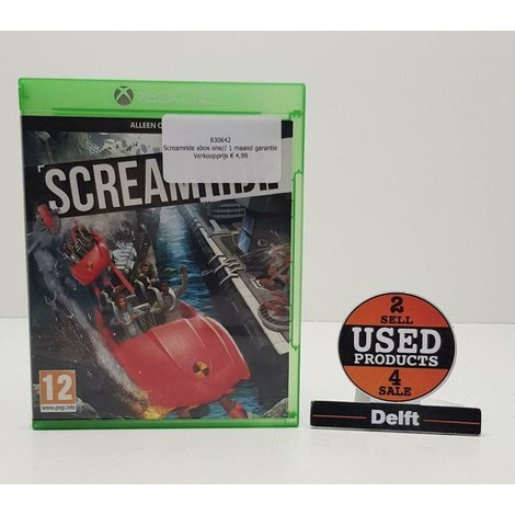 Screamride xbox one// 1 maand garantie