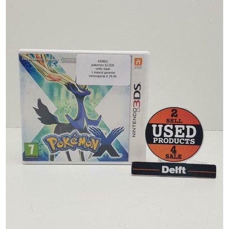 pokemon X//3DS//nette staat// 1 maand garantie