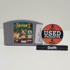 Rayman 2 voor nintendo 64 met 1 maand garantie