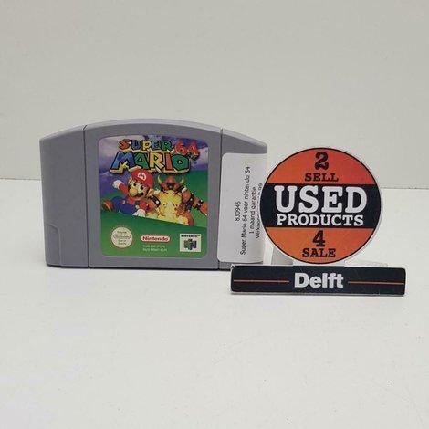Super Mario 64 voor nintendo 64 met 1 maand garantie