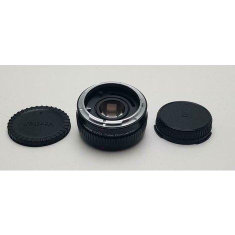 Vivitar tele converter MC voor canon//1 maand garantie
