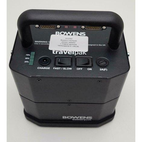 Bowens travelpak//zonder oplader//1 maand garantie