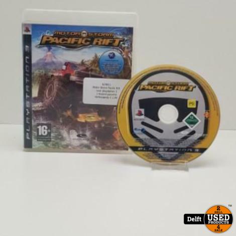 Motor Storm Pacific Rift voor playstation 3 met 1 maand garantie