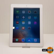 iPad 3 16GB WiFi Silver//nette staat//3 maanden garantie