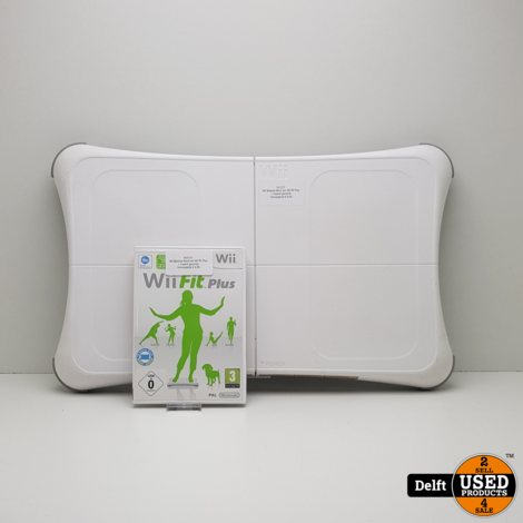 Wii Balance Bord incl Wii Fit Plus//1 maand garantie