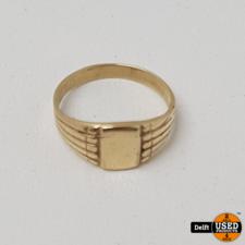 gouden meisjes ring 14krt//ringmaat 13//1.0 gram//1 maand garantie