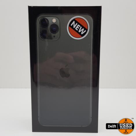 iPhone 11 Pro Max 256GB Midnight Green//Nieuw in seal//Apple garantie